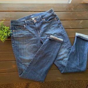 Loft Modern Skinny Jeans Medium Wash Size 8